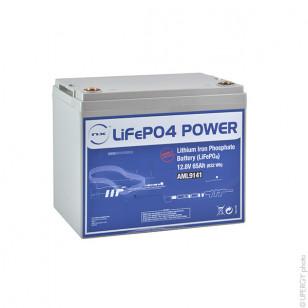 Lithium-Eisen-Phosphat Akku UN38.3 12V 65Ah M8 - AML9141