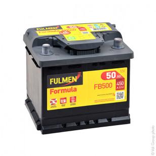 Startbatterie FB500 12V 50Ah 450A - BPA7020