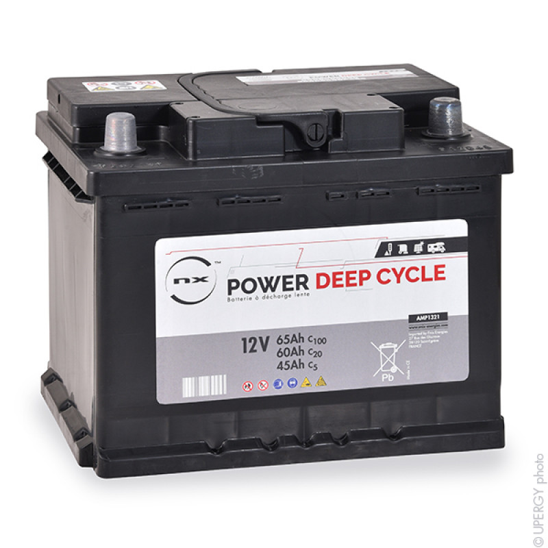 Akku Blei Offen NX Power Deep Cycle 12V 65Ah C100 - AMP1321