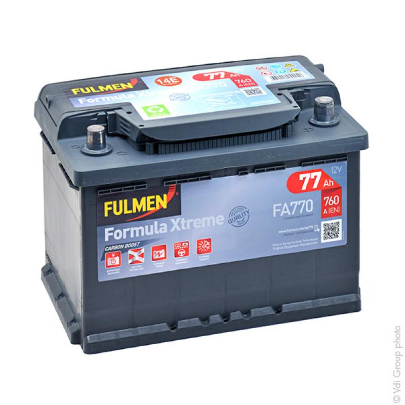 Startbatterie FA770 12V 77Ah 760A - BPA7006