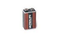 Batterie ULTRALIFE Lithium 9V